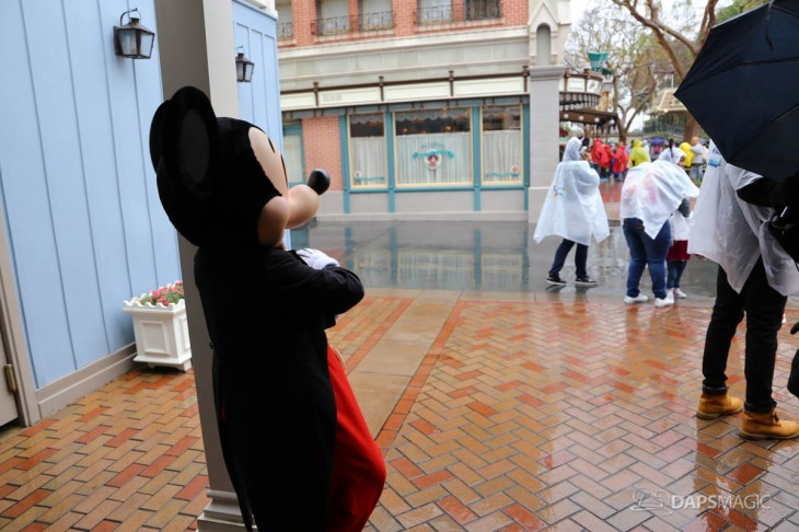 Rainy Day at the Disneyland Resort-74
