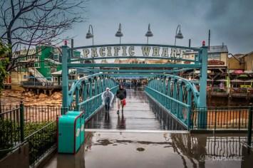 Rainy Valentine's Day at the Disneyland Resort