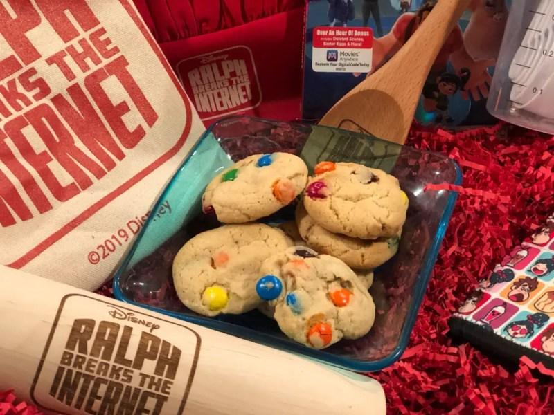 Grandma's M&M Cookies – GEEK EATS Ralph Breaks the Internet Sugar Rush Recipe