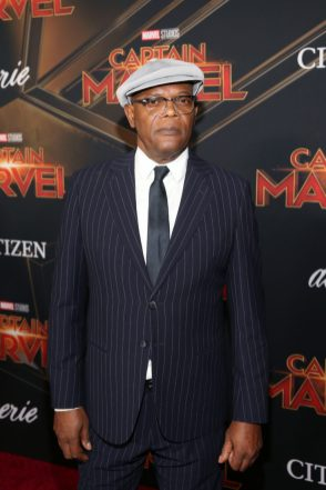 "HOLLYWOOD, CA - MARCH 04: Actor Samuel L. Jackson attends the Los Angeles World Premiere of Marvel Studios' ""Captain Marvel"" at Dolby Theatre on March 4, 2019 in Hollywood, California. (Photo by Jesse Grant/Getty Images for Disney) *** Local Caption *** Samuel L. Jackson"