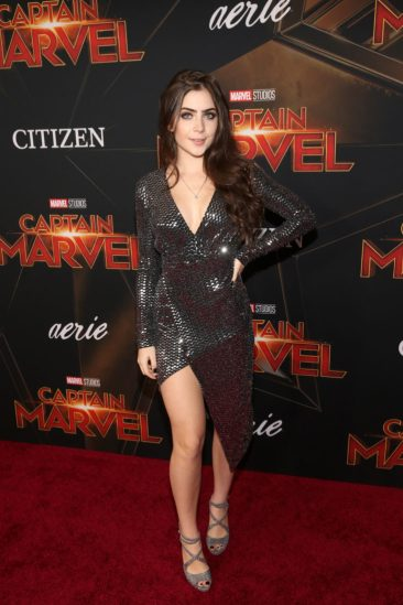 "HOLLYWOOD, CA - MARCH 04: Jade Picon attends the Los Angeles World Premiere of Marvel Studios' ""Captain Marvel"" at Dolby Theatre on March 4, 2019 in Hollywood, California. (Photo by Jesse Grant/Getty Images for Disney) *** Local Caption *** Jade Picon"