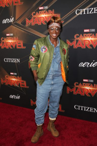 "HOLLYWOOD, CA - MARCH 04: Essence Carson attends the Los Angeles World Premiere of Marvel Studios' ""Captain Marvel"" at Dolby Theatre on March 4, 2019 in Hollywood, California. (Photo by Jesse Grant/Getty Images for Disney) *** Local Caption *** Essence Carson"