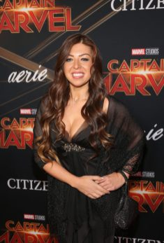 "HOLLYWOOD, CA - MARCH 04: Composer Pinar Toprak attends the Los Angeles World Premiere of Marvel Studios' ""Captain Marvel"" at Dolby Theatre on March 4, 2019 in Hollywood, California. (Photo by Jesse Grant/Getty Images for Disney) *** Local Caption *** Pinar Toprak"
