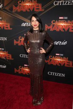 "HOLLYWOOD, CA - MARCH 04: Actor Kathreen Khavari attends the Los Angeles World Premiere of Marvel Studios' ""Captain Marvel"" at Dolby Theatre on March 4, 2019 in Hollywood, California. (Photo by Jesse Grant/Getty Images for Disney) *** Local Caption *** Kathreen Khavari"