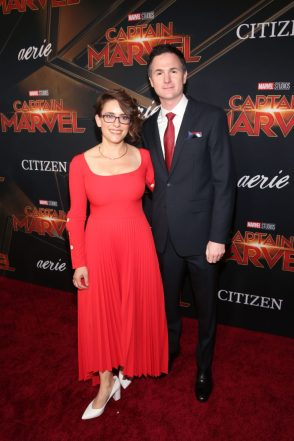"HOLLYWOOD, CA - MARCH 04: (L-R) Directors/writers Anna Boden and Ryan Fleck attend the Los Angeles World Premiere of Marvel Studios' ""Captain Marvel"" at Dolby Theatre on March 4, 2019 in Hollywood, California. (Photo by Jesse Grant/Getty Images for Disney) *** Local Caption *** Ryan Fleck; Anna Boden"