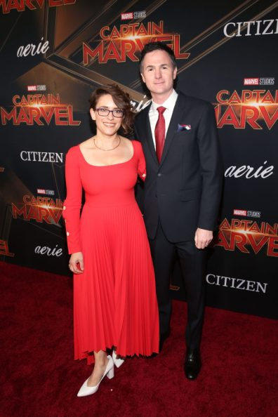 """HOLLYWOOD, CA - MARCH 04: (L-R) Directors/writers Anna Boden and Ryan Fleck attend the Los Angeles World Premiere of Marvel Studios' """"Captain Marvel"""" at Dolby Theatre on March 4, 2019 in Hollywood, California. (Photo by Jesse Grant/Getty Images for Disney) *** Local Caption *** Ryan Fleck; Anna Boden"""