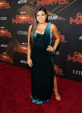 """HOLLYWOOD, CA - MARCH 04: Remi Cruz attends the Los Angeles World Premiere of Marvel Studios' """"Captain Marvel"""" at Dolby Theatre on March 4, 2019 in Hollywood, California. (Photo by Jesse Grant/Getty Images for Disney) *** Local Caption *** Remi Cruz"""