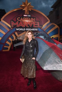 """HOLLYWOOD, CA - MARCH 04: Actor Christie Lynn Smith attends the Los Angeles World Premiere of Marvel Studios' """"Captain Marvel"""" at Dolby Theatre on March 4, 2019 in Hollywood, California. (Photo by Alberto E. Rodriguez/Getty Images for Disney) *** Local Caption *** Christie Lynn Smith"""