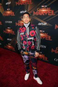 "HOLLYWOOD, CA - MARCH 04: Chance Perdomo attends the Los Angeles World Premiere of Marvel Studios' ""Captain Marvel"" at Dolby Theatre on March 4, 2019 in Hollywood, California. (Photo by Jesse Grant/Getty Images for Disney) *** Local Caption *** Chance Perdomo"