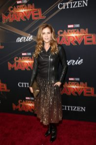 """HOLLYWOOD, CA - MARCH 04: Actor Christie Lynn Smith attends the Los Angeles World Premiere of Marvel Studios' """"Captain Marvel"""" at Dolby Theatre on March 4, 2019 in Hollywood, California. (Photo by Jesse Grant/Getty Images for Disney) *** Local Caption *** Christie Lynn Smith"""