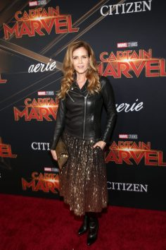 "HOLLYWOOD, CA - MARCH 04: Actor Christie Lynn Smith attends the Los Angeles World Premiere of Marvel Studios' ""Captain Marvel"" at Dolby Theatre on March 4, 2019 in Hollywood, California. (Photo by Jesse Grant/Getty Images for Disney) *** Local Caption *** Christie Lynn Smith"