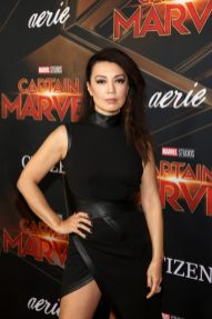 """HOLLYWOOD, CA - MARCH 04: Actor Ming-Na Wen attends the Los Angeles World Premiere of Marvel Studios' """"Captain Marvel"""" at Dolby Theatre on March 4, 2019 in Hollywood, California. (Photo by Jesse Grant/Getty Images for Disney) *** Local Caption *** Ming-Na Wen"""