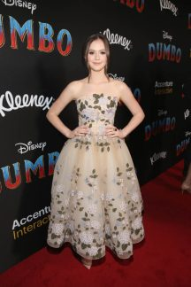 "LOS ANGELES, CA - MARCH 11: Olivia Sanabia attends the World Premiere of Disney's ""Dumbo"" at the El Capitan Theatre on March 11, 2019 in Los Angeles, California. (Photo by Jesse Grant/Getty Images for Disney) *** Local Caption *** Olivia Sanabia"