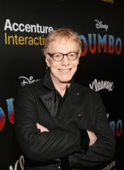 "LOS ANGELES, CA - MARCH 11: Composer Danny Elfman attends the World Premiere of Disney's ""Dumbo"" at the El Capitan Theatre on March 11, 2019 in Los Angeles, California. (Photo by Jesse Grant/Getty Images for Disney) *** Local Caption *** Danny Elfman"