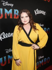 """LOS ANGELES, CA - MARCH 11: Lauren Ash attends the World Premiere of Disney's """"Dumbo"""" at the El Capitan Theatre on March 11, 2019 in Los Angeles, California. (Photo by Jesse Grant/Getty Images for Disney) *** Local Caption *** Lauren Ash"""