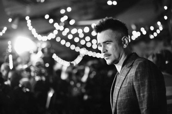 """LOS ANGELES, CA - MARCH 11: (EDITORS NOTE: Image has been shot in black and white. No color version available) Actor Colin Farrell attends the World Premiere of Disney's """"Dumbo"""" at the El Capitan Theatre on March 11, 2019 in Los Angeles, California. (Photo by Charley Gallay/Getty Images for Disney) *** Local Caption *** Colin Farrell"""