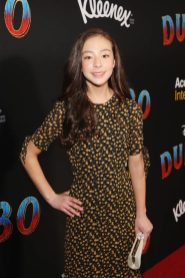 """LOS ANGELES, CA - MARCH 11: Aubrey Anderson-Emmons attends the World Premiere of Disney's """"Dumbo"""" at the El Capitan Theatre on March 11, 2019 in Los Angeles, California. (Photo by Jesse Grant/Getty Images for Disney) *** Local Caption *** Aubrey Anderson-Emmons"""