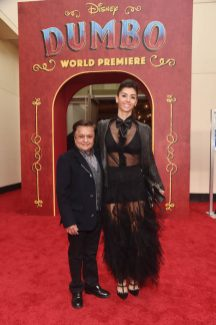 """LOS ANGELES, CA - MARCH 11: Deep Roy (L) and guest attend the World Premiere of Disney's """"Dumbo"""" at the El Capitan Theatre on March 11, 2019 in Los Angeles, California. (Photo by Alberto E. Rodriguez/Getty Images for Disney) *** Local Caption *** Deep Roy"""