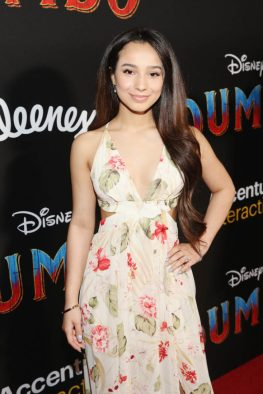 """LOS ANGELES, CA - MARCH 11: Angelic (Sophia Montero) attends the World Premiere of Disney's """"Dumbo"""" at the El Capitan Theatre on March 11, 2019 in Los Angeles, California. (Photo by Jesse Grant/Getty Images for Disney) *** Local Caption *** Angelic Montero"""