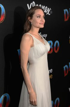 "LOS ANGELES, CA - MARCH 11: Angelina Jolie attends the World Premiere of Disney's ""Dumbo"" at the El Capitan Theatre on March 11, 2019 in Los Angeles, California. (Photo by Jesse Grant/Getty Images for Disney) *** Local Caption *** Angelina Jolie"