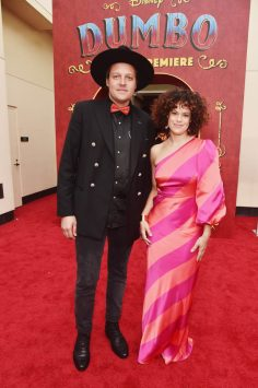 "LOS ANGELES, CA - MARCH 11: Win Butler (L) and Regine Chassagne of Arcade Fire attend the World Premiere of Disney's ""Dumbo"" at the El Capitan Theatre on March 11, 2019 in Los Angeles, California. (Photo by Alberto E. Rodriguez/Getty Images for Disney) *** Local Caption *** Win Butler; Regine Chassagne"