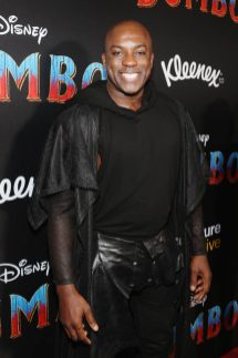 """LOS ANGELES, CA - MARCH 11: Actor DeObia Oparei attends the World Premiere of Disney's """"Dumbo"""" at the El Capitan Theatre on March 11, 2019 in Los Angeles, California. (Photo by Jesse Grant/Getty Images for Disney) *** Local Caption *** DeObia Oparei"""