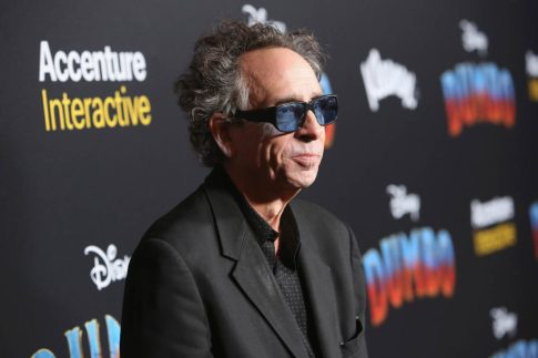 "LOS ANGELES, CA - MARCH 11: Director/executive producer Tim Burton attends the World Premiere of Disney's ""Dumbo"" at the El Capitan Theatre on March 11, 2019 in Los Angeles, California. (Photo by Jesse Grant/Getty Images for Disney) *** Local Caption *** tim burton"