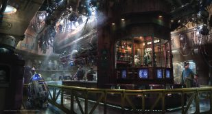 Exotic finds can be found throughout Star Wars: Galaxy's Edge when it opens May 31, 2019, at Disneyland Resort in California and Aug. 29, 2019, at Walt Disney World Resort in Florida. In the Droid Depot at Star Wars: Galaxy's Edge, guests will be able to build their own personal droids. (Disney Parks)