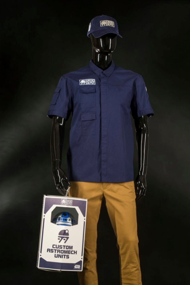 At the Droid Depot in Star Wars: GalaxyÕs Edge, guests can choose from an assortment of droids, apparel and other droid-inspired products. Guests will even be able to build their own custom astromech unit. Star Wars: GalaxyÕs Edge opens May 31, 2019, at Disneyland Resort in California and Aug. 29, 2019, at Walt Disney World Resort in Florida. (David Roark/Disney Parks)