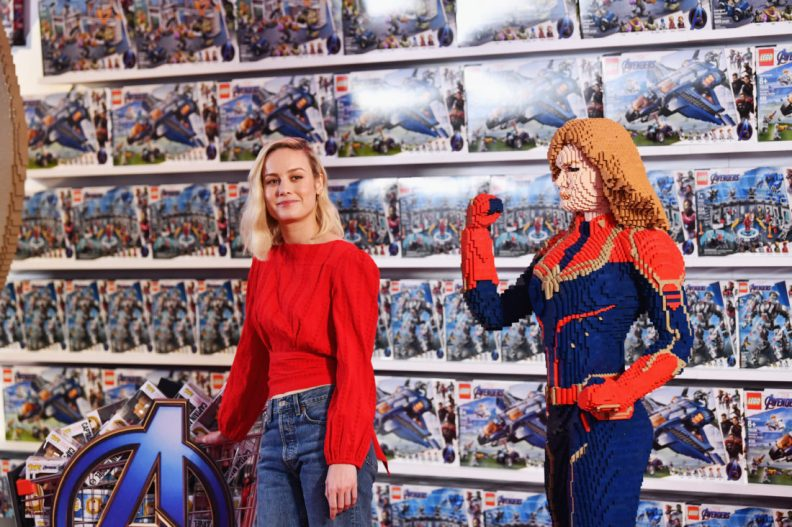 ANAHEIM, CA - APRIL 05: Brie Larson attends Avengers Universe Unites, a charity event to celebrate the donation of more than $5 million in cash and toys to nonprofits supporting children with critical illnesses, at Disney California Adventure Park on April 5, 2019 in Anaheim, California. (Photo by Emma McIntyre/Getty Images for Disney) *** Local Caption *** Brie Larson