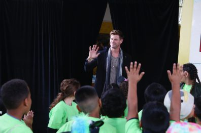 ANAHEIM, CA - APRIL 05: Chris Hemsworth attends Avengers Universe Unites, a charity event to celebrate the donation of more than $5 million in cash and toys to nonprofits supporting children with critical illnesses, at Disney California Adventure Park on April 5, 2019 in Anaheim, California. (Photo by Joe Scarnici/Getty Images for Disney) *** Local Caption *** Chris Hemsworth