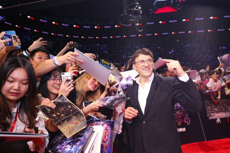 Anthony Russo at the Avengers Endgame China Fan Event Red Carpet