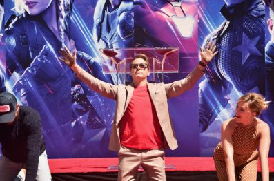 AVENGERS- ENDGAME Handprints at Chinese Theatre-14