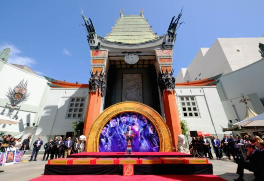 AVENGERS- ENDGAME Handprints at Chinese Theatre-2
