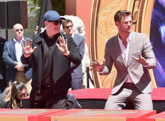AVENGERS- ENDGAME Handprints at Chinese Theatre-21