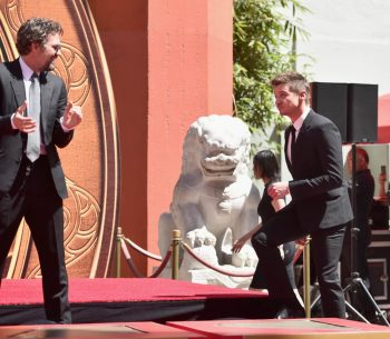 AVENGERS- ENDGAME Handprints at Chinese Theatre-7
