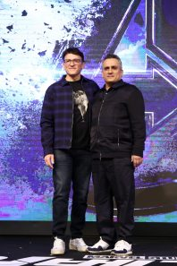 SEOUL, SOUTH KOREA - APRIL 15: Anthony Russo and Joe Russo attend the press conference for Marvel Studios' 'Avengers: Endgame' South Korea premiere on April 15, 2019 in Seoul, South Korea. (Photo by Chung Sung-Jun/Getty Images for Disney)