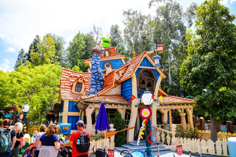 Mickeys Toontown on Day Mickey and Minnies Runaway Railway is Announced for Disneyland-61