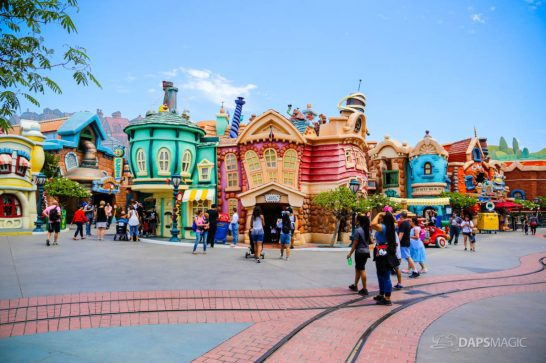 Mickeys Toontown on Day Mickey and Minnies Runaway Railway is Announced for Disneyland-64