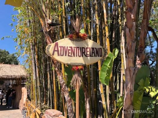 New Adventureland Sign at Disneyland-1