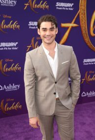 """LOS ANGELES, CA - MAY 21: Alex Rich attends the World Premiere of Disney's """"Aladdin"""" at the El Capitan Theater in Hollywood CA on May 21, 2019, in the culmination of the film's Magic Carpet World Tour with stops in Paris, London, Berlin, Tokyo, Mexico City and Amman, Jordan. (Photo by Jesse Grant/Getty Images for Disney) *** Local Caption *** Alex Rich"""