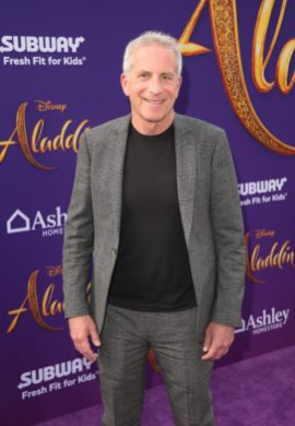 """LOS ANGELES, CA - MAY 21: Producer Marc Platt attends the World Premiere of Disney's """"Aladdin"""" at the El Capitan Theater in Hollywood CA on May 21, 2019, in the culmination of the film's Magic Carpet World Tour with stops in Paris, London, Berlin, Tokyo, Mexico City and Amman, Jordan. (Photo by Jesse Grant/Getty Images for Disney) *** Local Caption *** Marc Platt"""