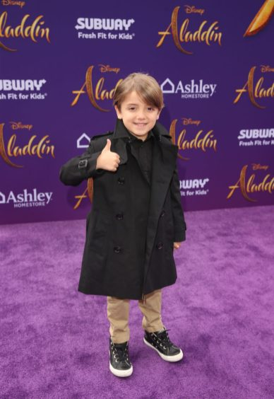 """LOS ANGELES, CA - MAY 21: Jeremy Maguire attends the World Premiere of Disney's """"Aladdin"""" at the El Capitan Theater in Hollywood CA on May 21, 2019, in the culmination of the film's Magic Carpet World Tour with stops in Paris, London, Berlin, Tokyo, Mexico City and Amman, Jordan. (Photo by Jesse Grant/Getty Images for Disney) *** Local Caption *** Jeremy Maguire"""