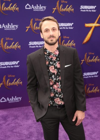 """LOS ANGELES, CA - MAY 21: Adam McArthur attends the World Premiere of Disney's """"Aladdin"""" at the El Capitan Theater in Hollywood CA on May 21, 2019, in the culmination of the film's Magic Carpet World Tour with stops in Paris, London, Berlin, Tokyo, Mexico City and Amman, Jordan. (Photo by Jesse Grant/Getty Images for Disney) *** Local Caption *** Adam McArthur"""