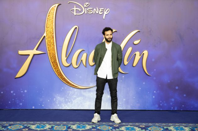 Marwan Kenzari attends the European Gala Screening of DisneyÕs ÒAladdinÓ on May 9th at LondonÕs ODEON Luxe in Leicester Square, London UK.