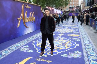 Mean Massoud attends the European Gala Screening of DisneyÕs ÒAladdinÓ on May 9th at LondonÕs ODEON Luxe in Leicester Square, London UK.