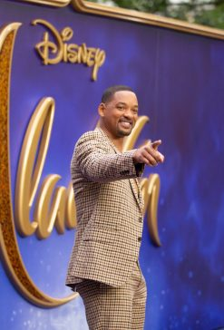 Will Smith attends the European Gala Screening of DisneyÕs ÒAladdinÓ on May 9th at LondonÕs ODEON Luxe in Leicester Square, London UK.