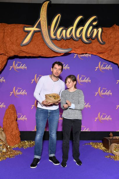 """PARIS, FRANCE - MAY 08: Studio BubbleTea attends the """"Aladdin"""" gala screening at Le Grand Rex on May 08, 2019 in Paris, France. (Photo by Pascal Le Segretain/Getty Images For Disney)"""