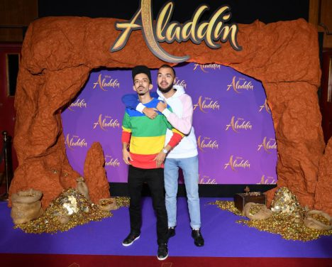 """PARIS, FRANCE - MAY 08: Bigflo et Oli attend the """"Aladdin"""" gala screening at Le Grand Rex on May 08, 2019 in Paris, France. (Photo by Pascal Le Segretain/Getty Images For Disney)"""