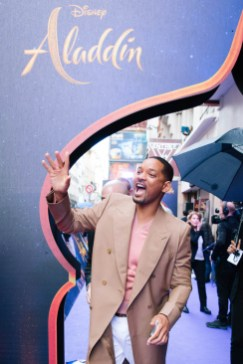 """PARIS, FRANCE – May 08: Will Smith attends the """"Aladdin"""" Paris Gala Screening at Cinema Le Grand Rex on May 08, 2019 in Paris, France."""